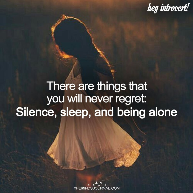 There Are Things That You Will Never Regret