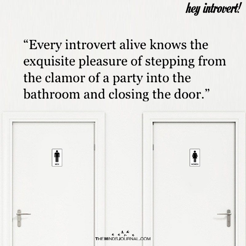 Every Introvert Alive Knows The Exquisite Pleasure