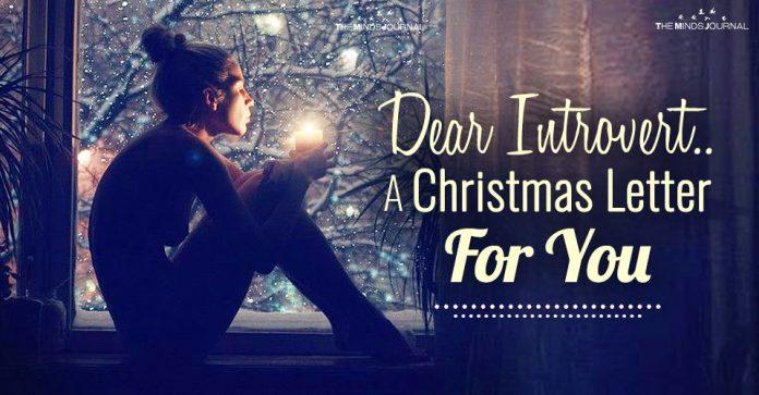 Christmas Letter For Introvert