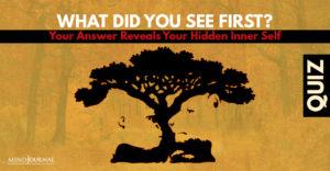 First Your Answer Reveals Hidden Inner Self