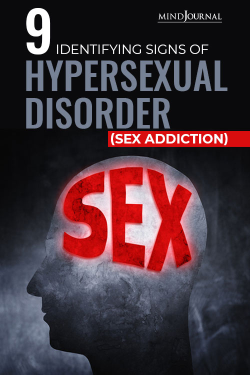 Signs Hypersexual Disorder pin