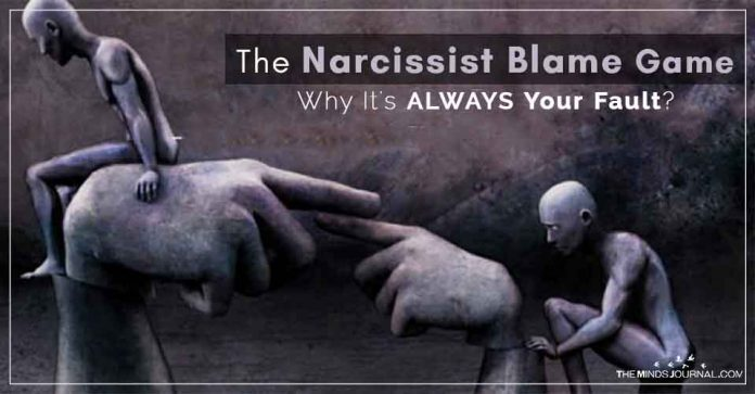 The Narcissist Blame Game Why It's ALWAYS Your Fault