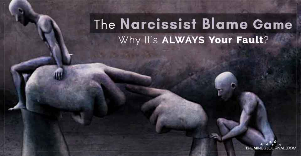 The Narcissist Blame Game: Why It's ALWAYS Your Fault?
