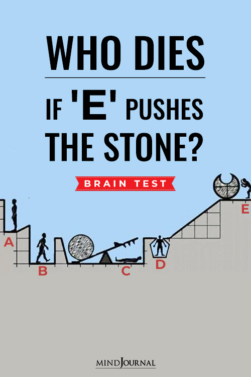 Who Dies E Pushes Stone pin