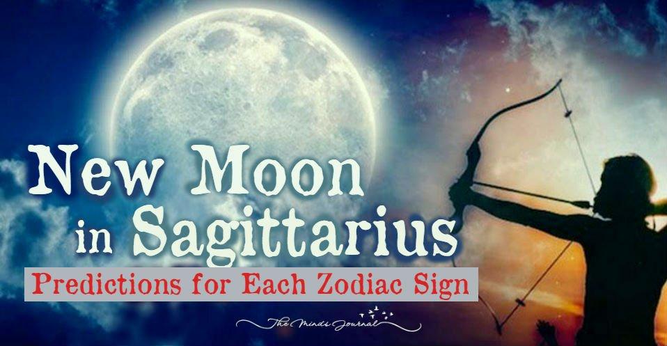 New Moon In Sagittarius – Predictions for Each Zodiac Sign