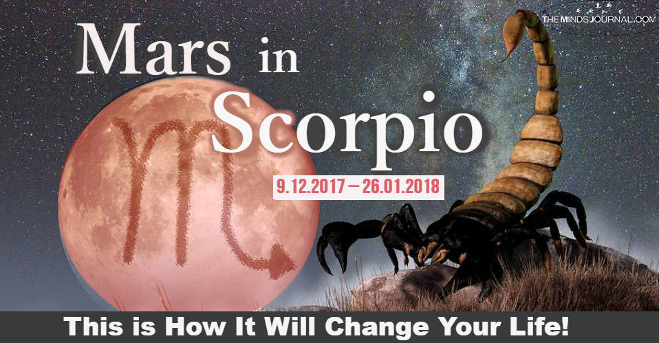 Mars in Scorpio: This Is How It Will Affect You