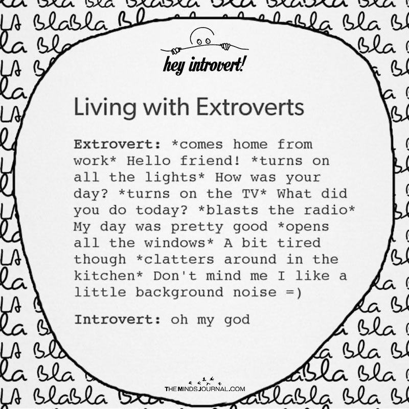 Living With Extroverts