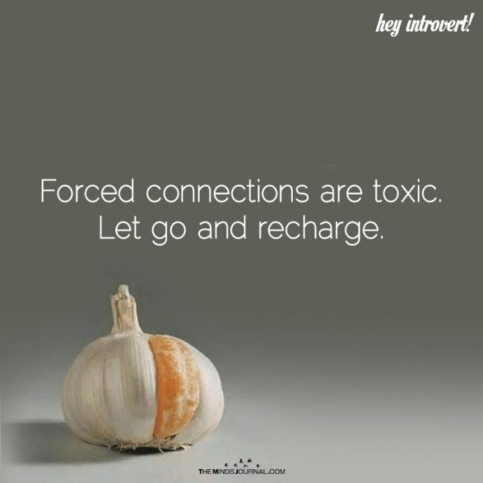 Forced Connections Are Toxic