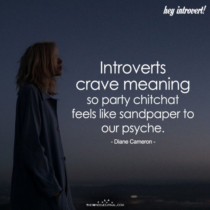 Introverts Crave Meaning