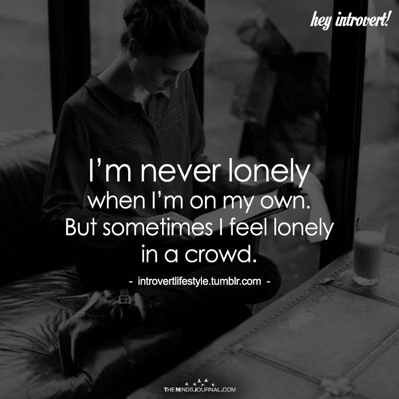 I'm Never Lonely