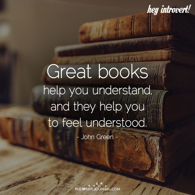 Great Books Help You Understand