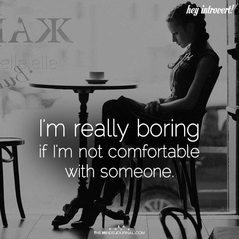 I'm Really Boring