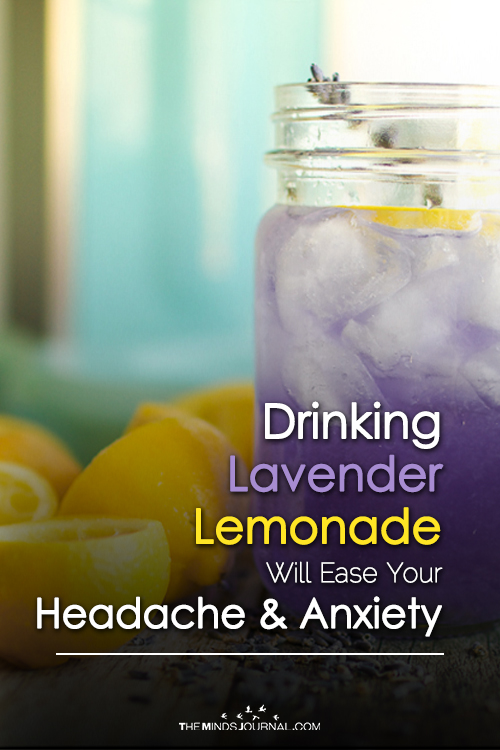 How Lavender Lemonade Eases Your Headache And Anxiety
