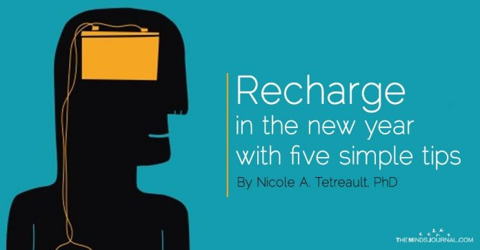 Recharge in the new year with five simple tips