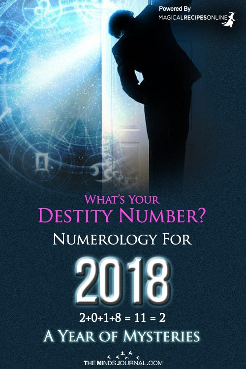 Numerology :What's our Destiny Number for 2018, a year of Mysteries