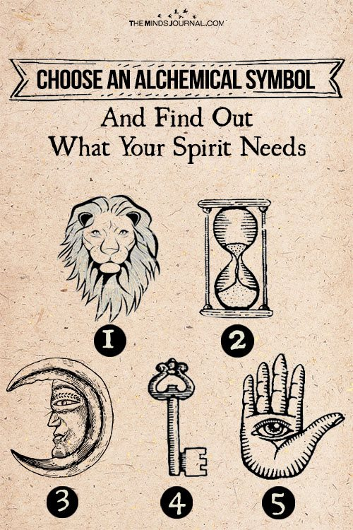 Choose an Alchemical Symbol: Find Out What Your Soul Needs