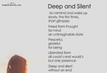 Deep and Silent