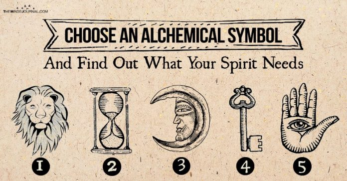 Choose an Alchemical Symbol – Find Out what Your Spirit Thirsts for