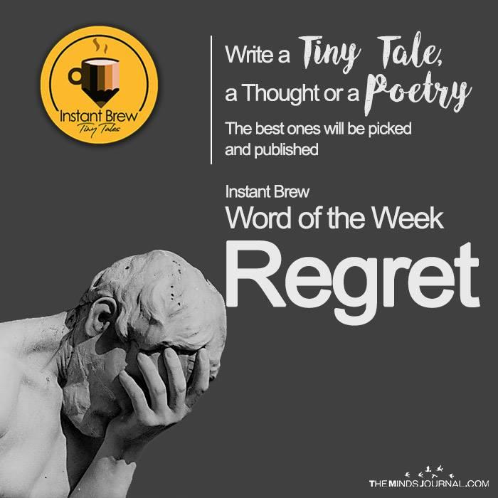 Instant Brew Word Of The Week, 'Regret'  ( 27 Jan 2017 – 2 Feb 2018)