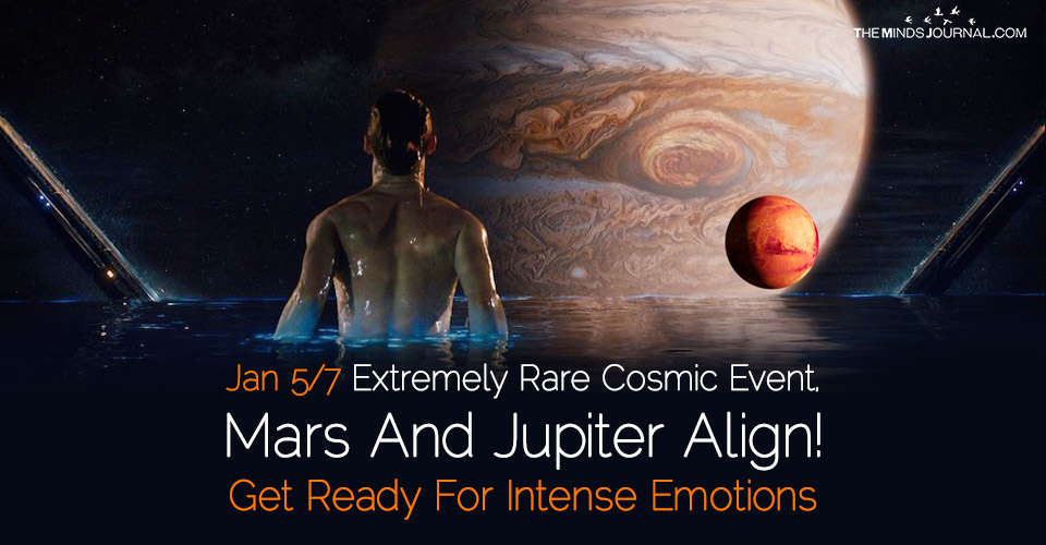 Jan 5-7 Extremely Rare Cosmic Event: Mars And Jupiter Align! Get Ready For Intense Emotions