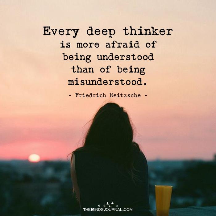 Every Deep Thinker