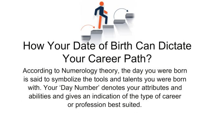This Is How Your Date Of Birth Dictates Your Career Path?