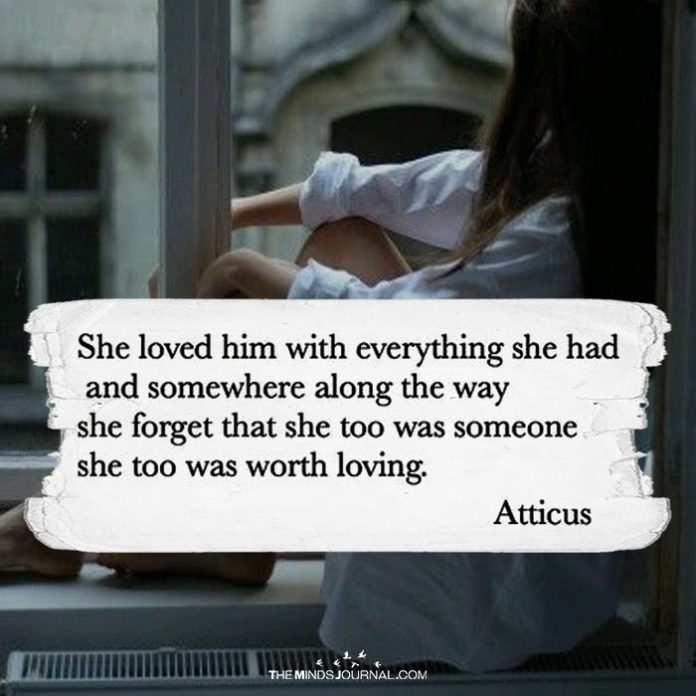 She Loved Him With Everything She Had