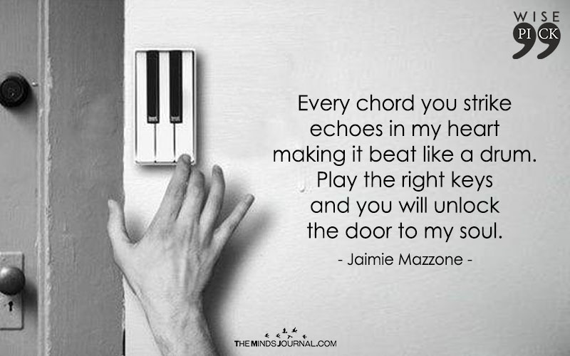 Every chord you strike echoes in my heart - The Minds Journal
