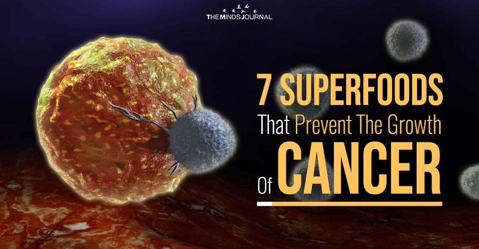 7 Superfoods That Prevent The Growth Of Cancer