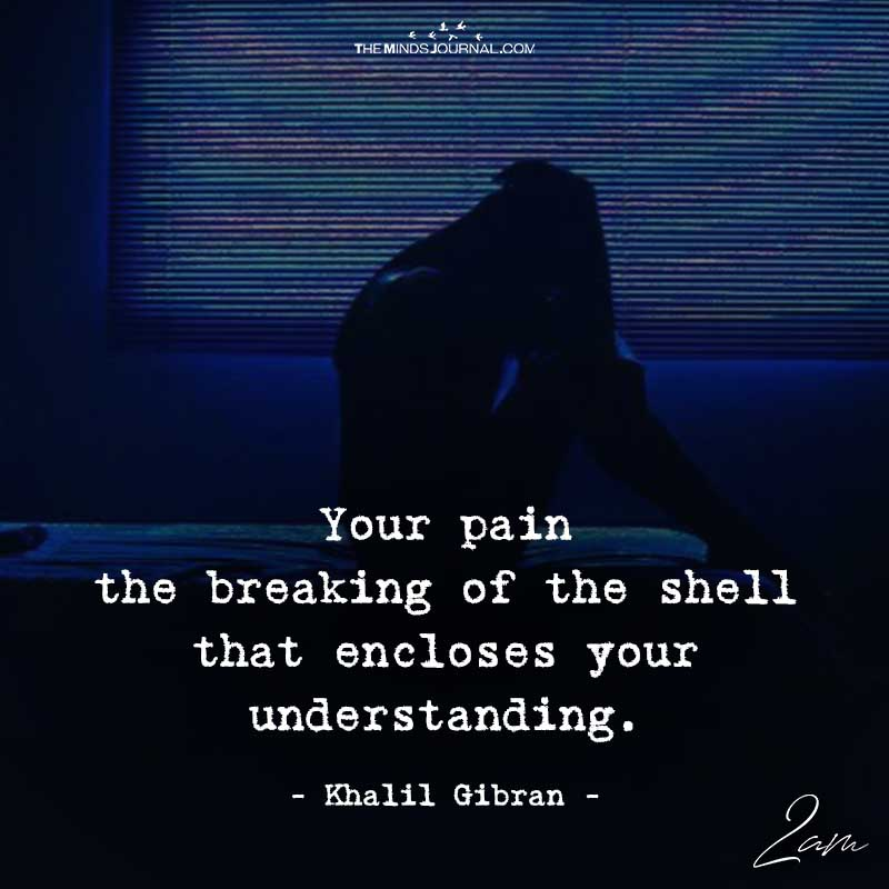 Your Pain The Breaking Of The Shell