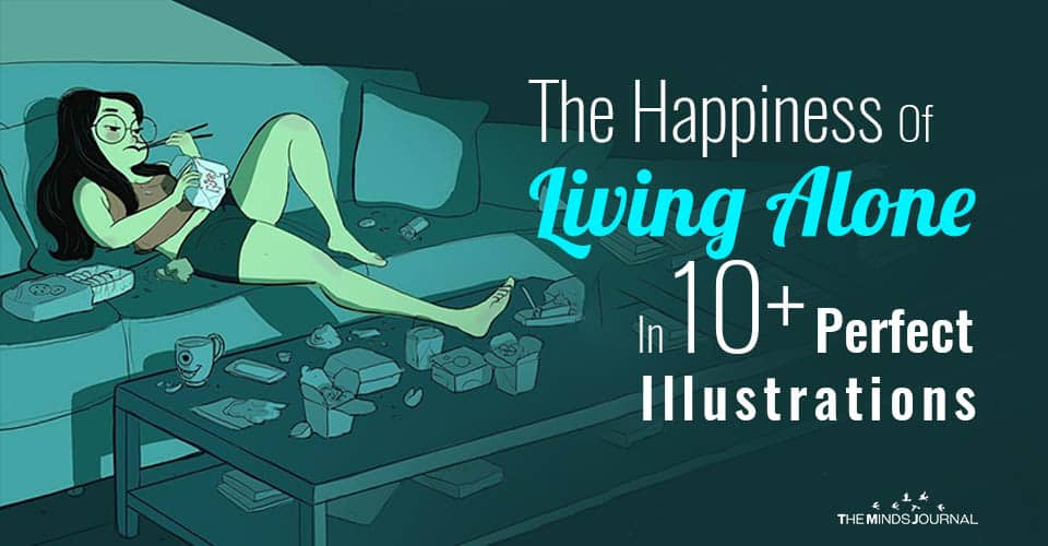 The Happiness Of Living Alone In 10+ Perfect Illustrations