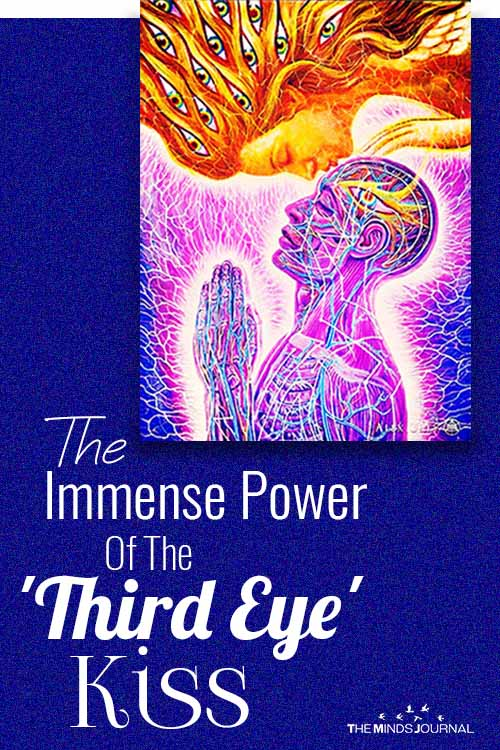 Immense Potential And Power Of The Third Eye Kiss pin