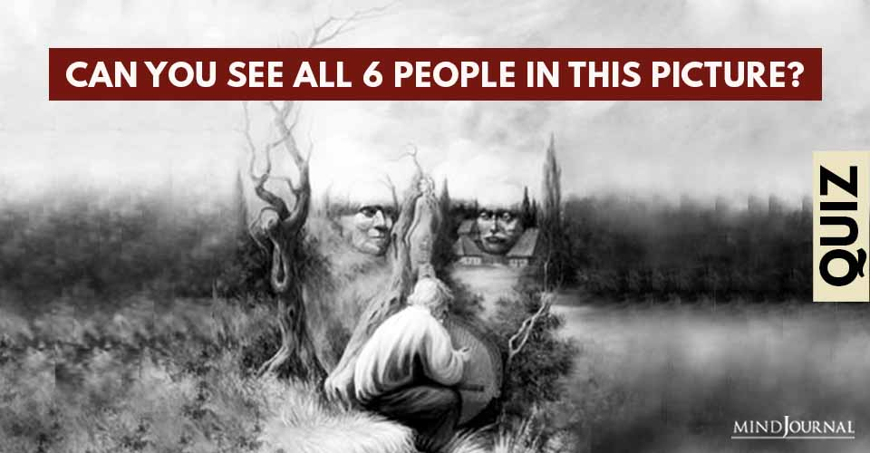 People in Picture Brain Test