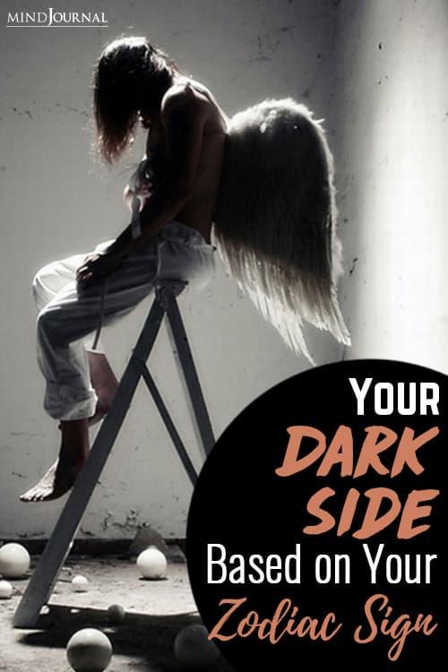 Your Dark Side zodiac sign pin