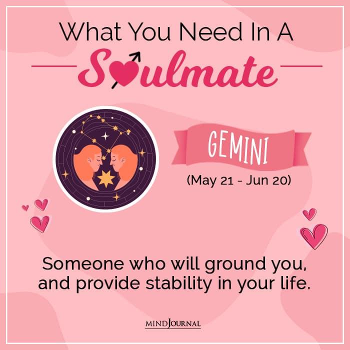 soulmate gemini