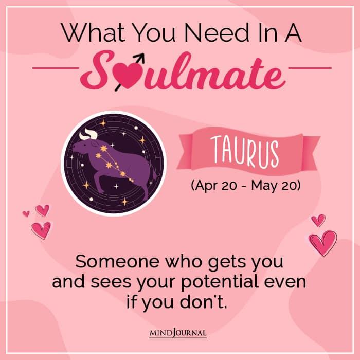 soulmate taurus
