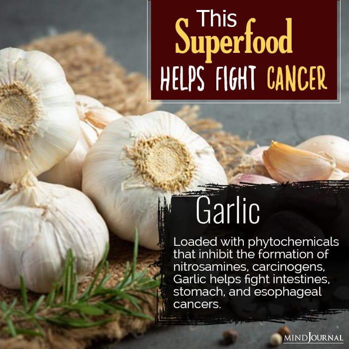 superfoods prevent cancer garlic