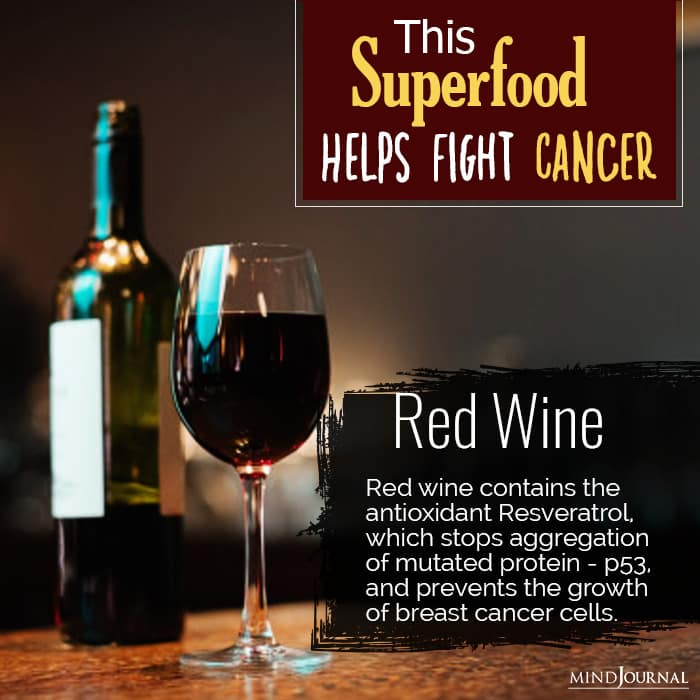 superfoods prevent cancer red wine