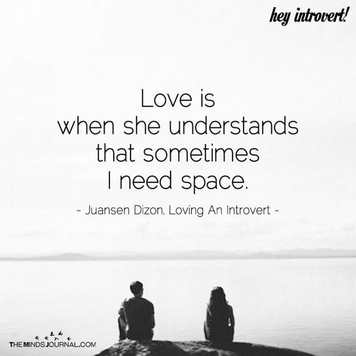 Love Is When She Understands