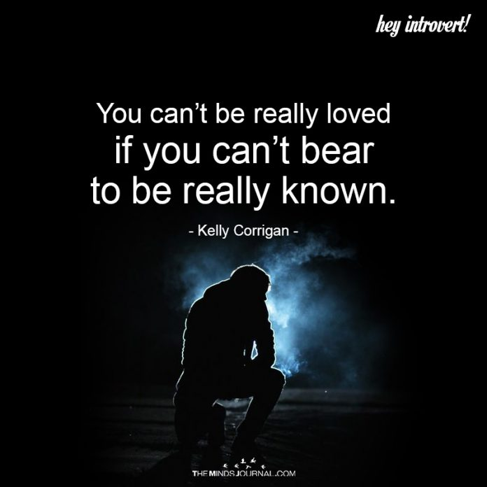 You Can't Be Really Loved
