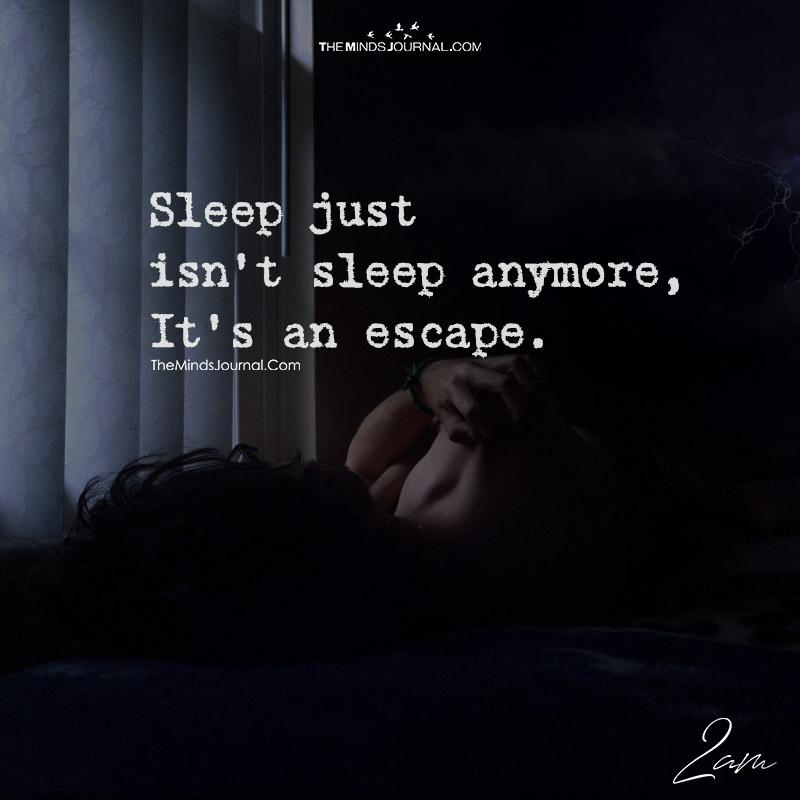 Sleep Just Isn't Sleep Anymore
