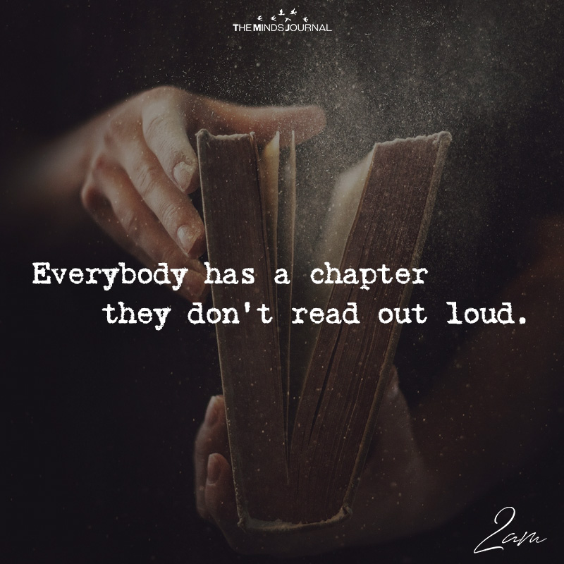 Everybody Has A Chapter