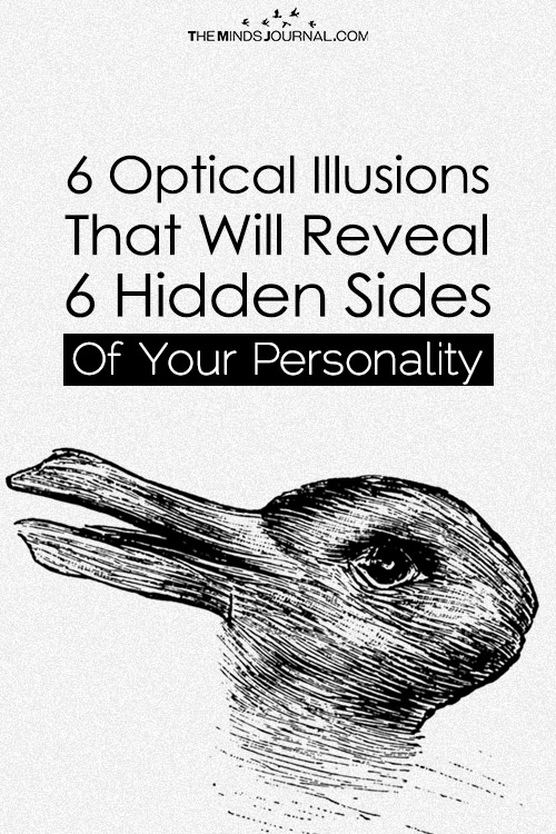 These 6 Optical Illusions Will Reveal 6 Hidden Sides of Your Personality