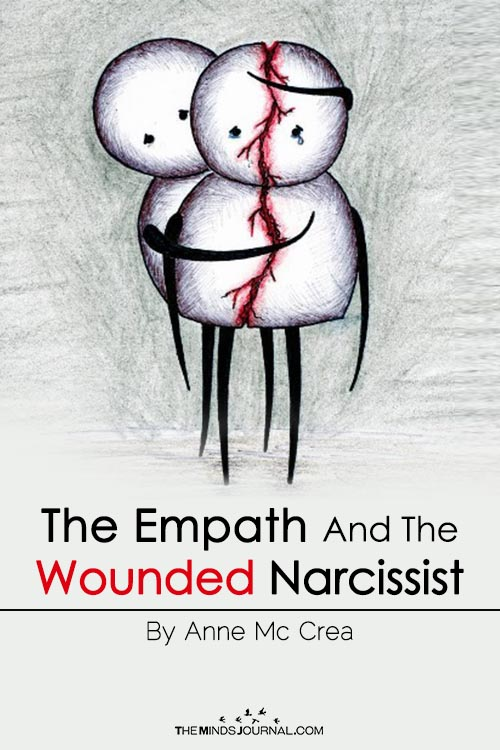 The Empath And The Wounded Narcissist