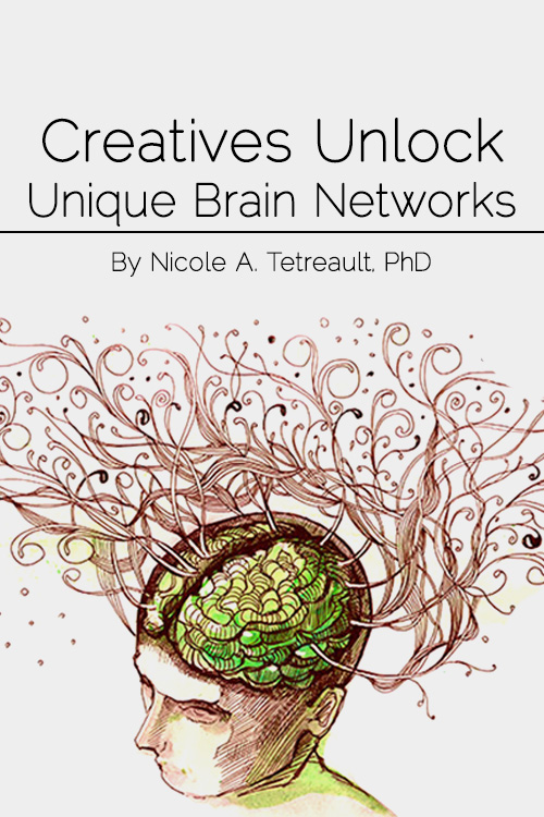 Creatives unlock unique brain networks
