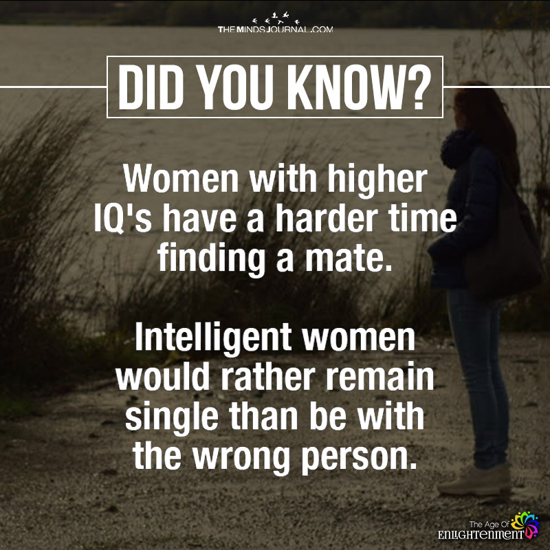 Women With Higher IQ's