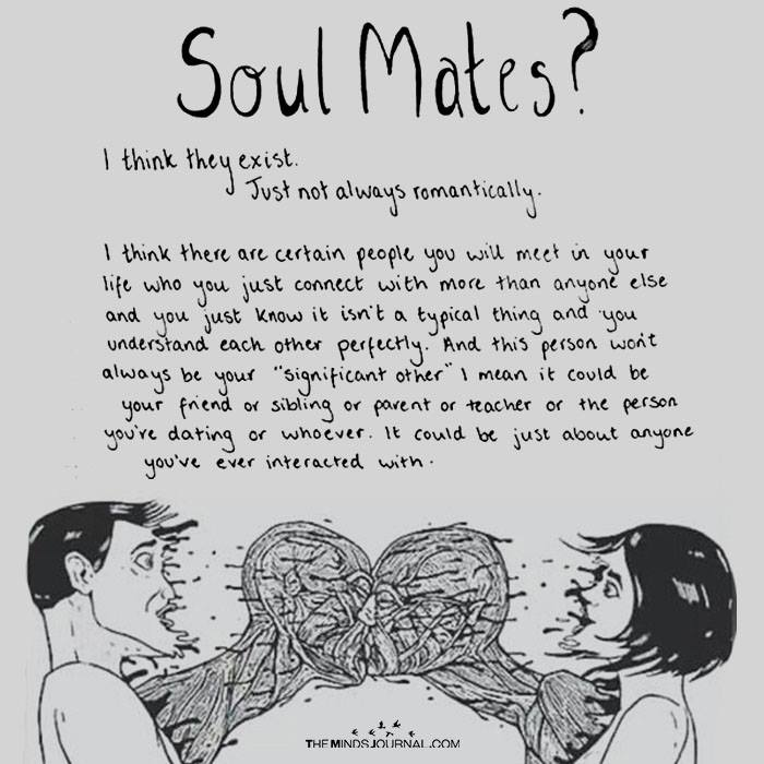 Soulmates? I Think they Exist
