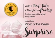 Instant Brew Word Of The Week, 'Surprise' ( 10 Feb 2017 - 16 Feb 2018)