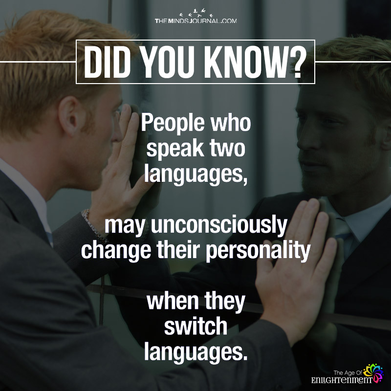 People Who Speak Two Languages