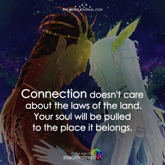 Connection Doesn't Care About The Laws Of The Land